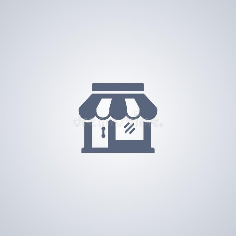 Il deposito, negozio, vector la migliore icona piana royalty illustrazione gratis