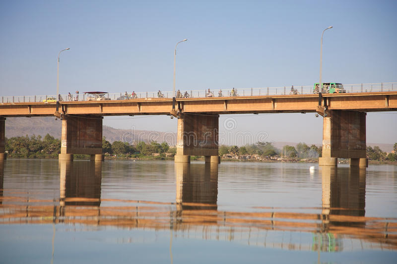 Il DES di Pont martyrs il ponticello fotografia stock libera da diritti
