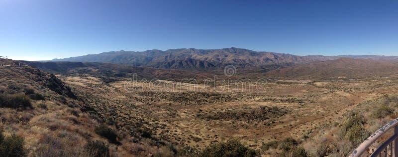 Il deserto in Arizona fotografia stock libera da diritti