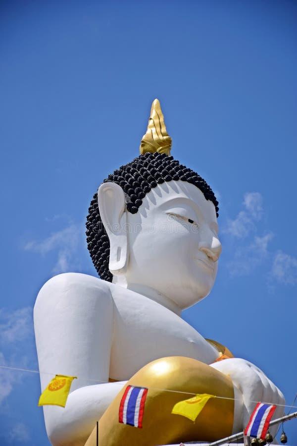 Il desiderio di stare bene ad un Buddha a Buddha è prima atti meritevoli fotografia stock