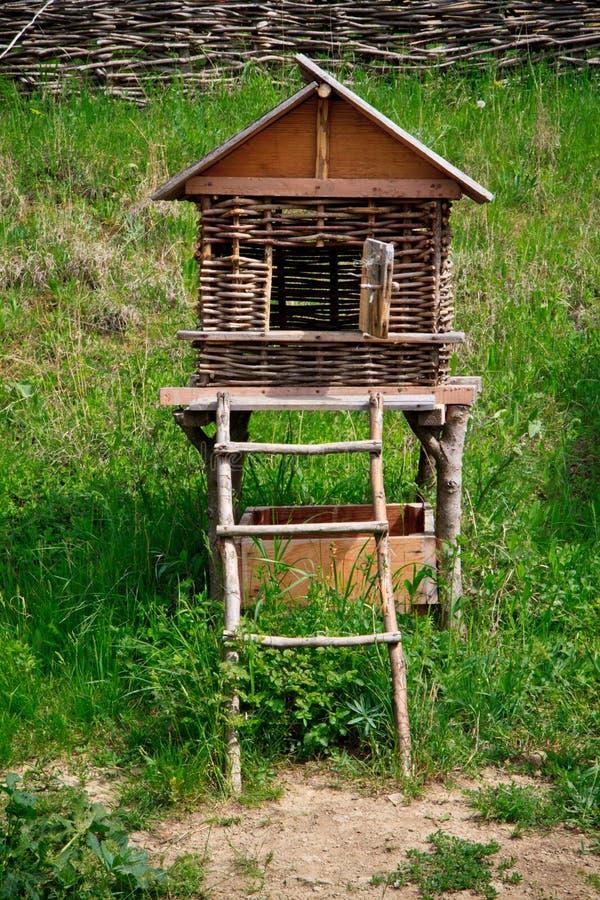 Il ¡ di Ð hicken la gabbia, la Georgia immagine stock