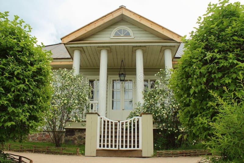 Il di casa museo di Alexander Pushkin fotografia stock