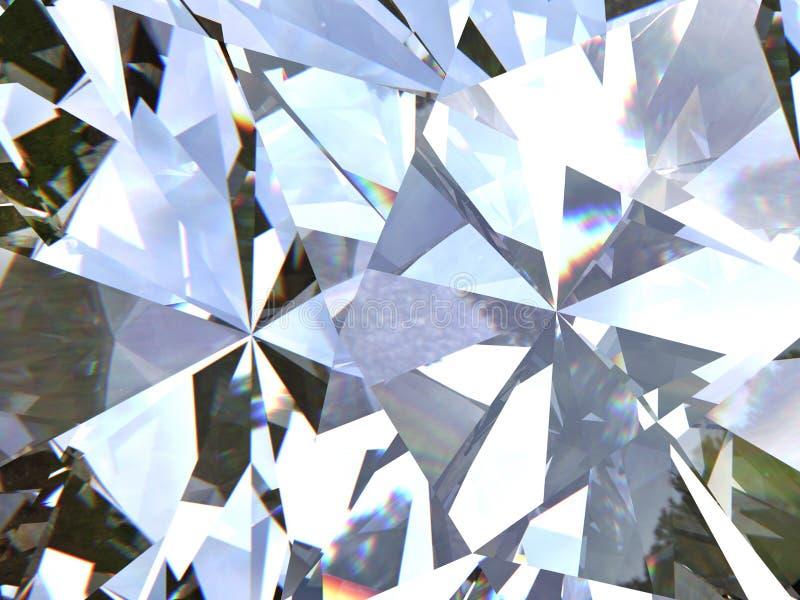 Il diamante o il cristallo triangolare stratificato di struttura modella il fondo modello della rappresentazione 3d fotografia stock libera da diritti