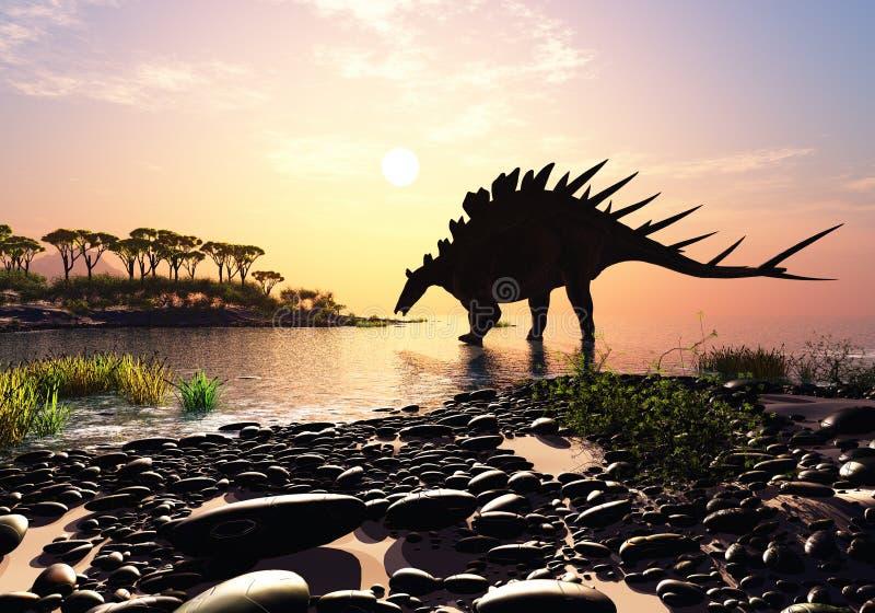 Il dinosauro illustrazione vettoriale