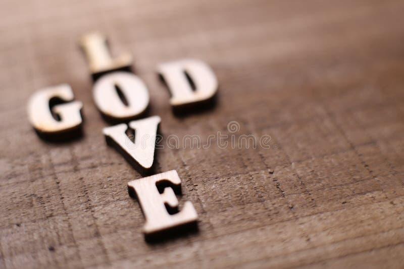 Il dio è amore immagine stock