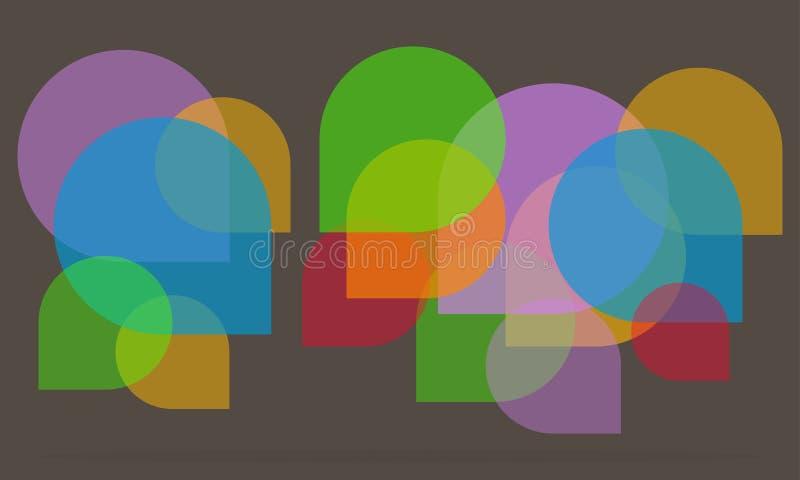 Il discorso bolle icona fotografie stock