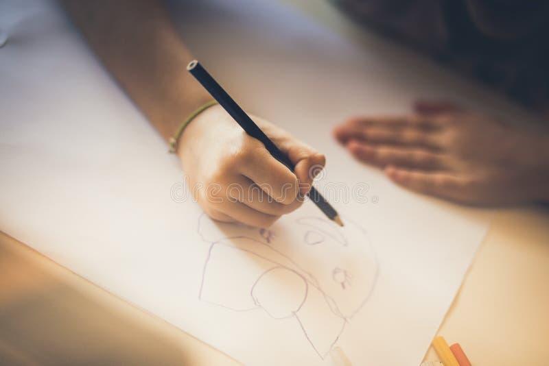 Il disegno è per la sua mamma immagini stock libere da diritti