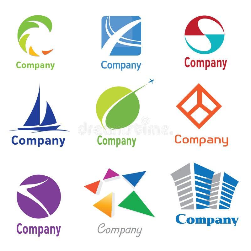 Il disegno di marchio prova 01 illustrazione di stock
