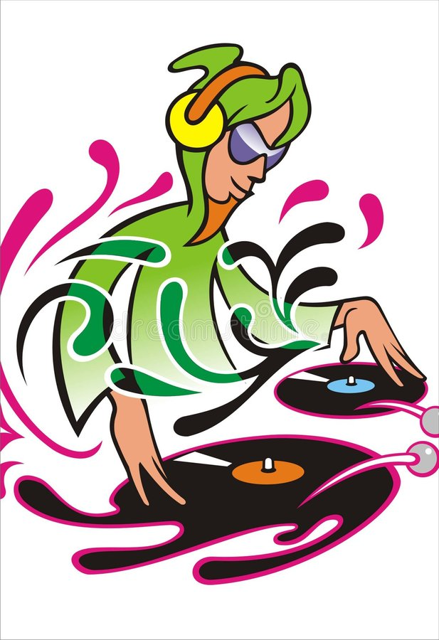 Download Il DJ illustrazione vettoriale. Illustrazione di anca - 3886179