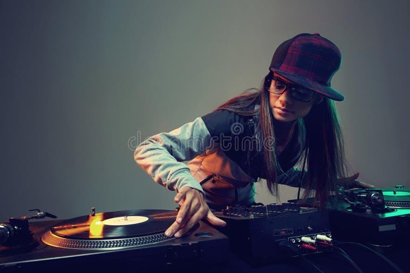Il DJ d'avanguardia fotografia stock libera da diritti