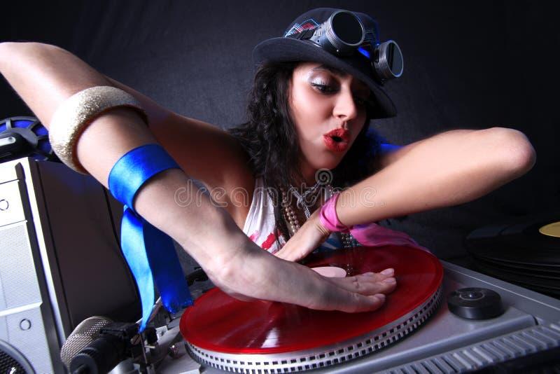 Il DJ freddo immagine stock libera da diritti