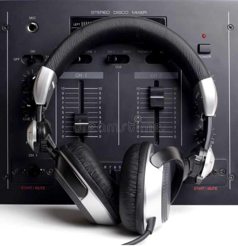 Il DJ ha impostato 2 fotografie stock
