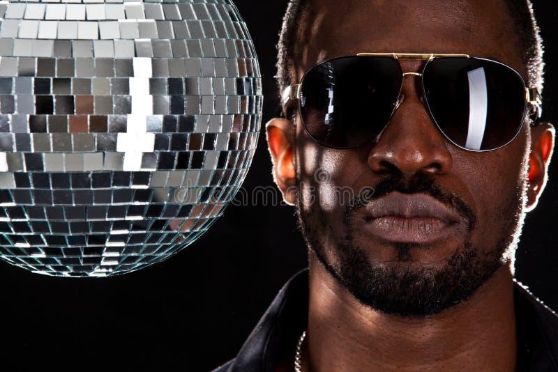 Il DJ più freddo in città fotografia stock