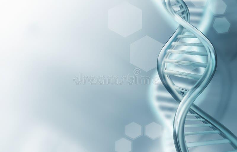 Il DNA incaglia il fondo royalty illustrazione gratis