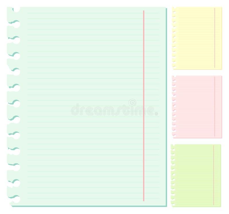 Il documento illustrazione vettoriale