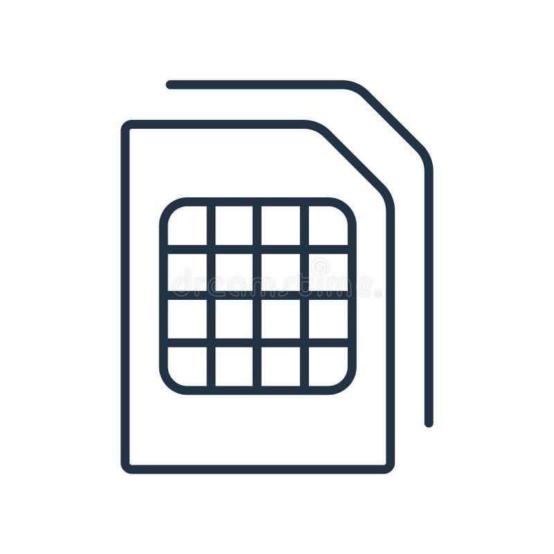Il documento con il vettore dell'icona delle Tabelle isolato su fondo bianco, documento con le Tabelle firma illustrazione vettoriale
