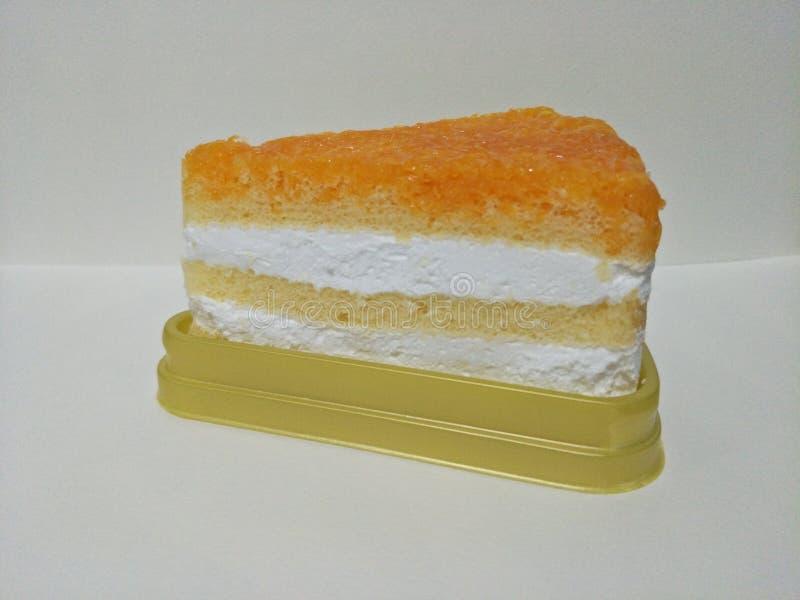 Il dolce è un genere di alimento che ha dolce ed ha passato il processo di panificazione che è fatto dalla farina di frumento fotografia stock