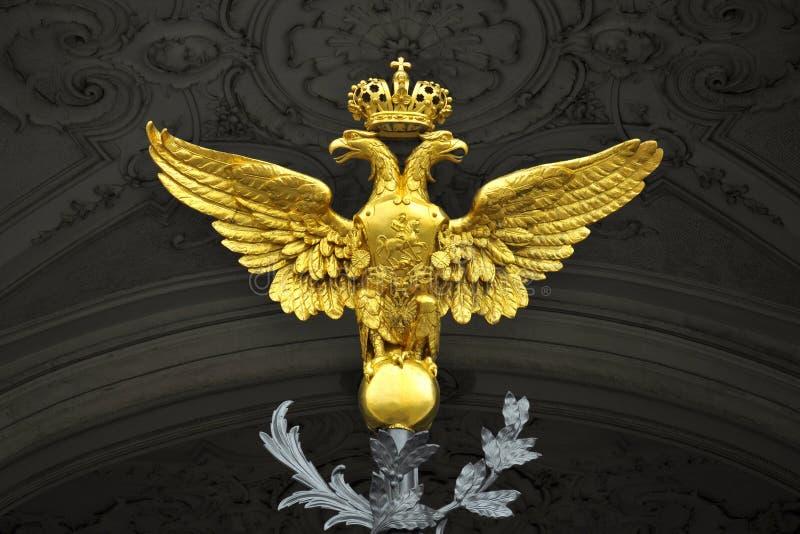 Il Doppio Ha Diretto L Aquila, Palazzo Di Inverno, St Petersburg Immagini Stock Libere da Diritti