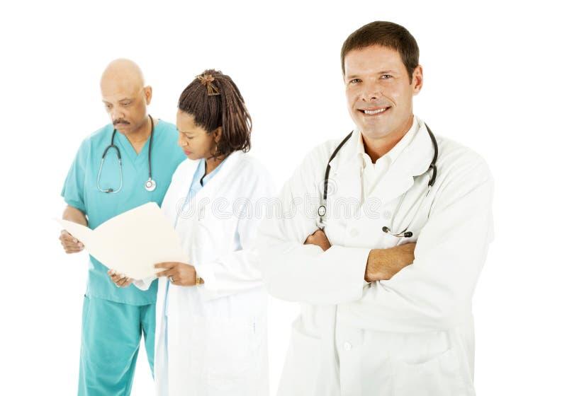 Il dottore Diversity immagine stock