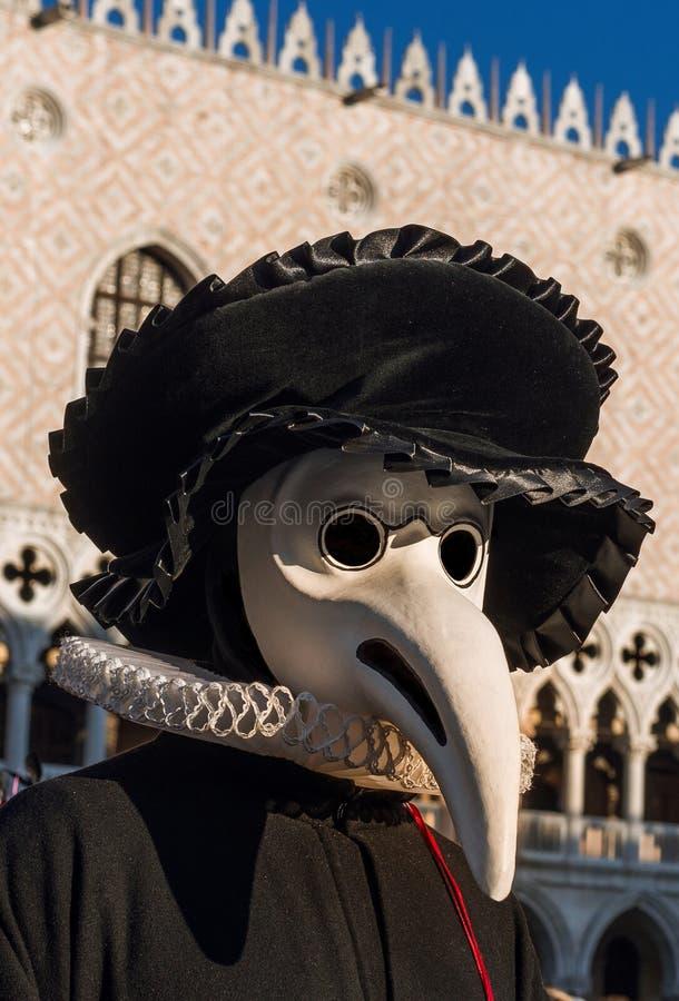Il dottore Mask di peste fotografia stock