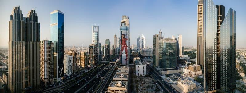 Il Dubai del centro, Emirati Arabi Uniti fotografia stock libera da diritti