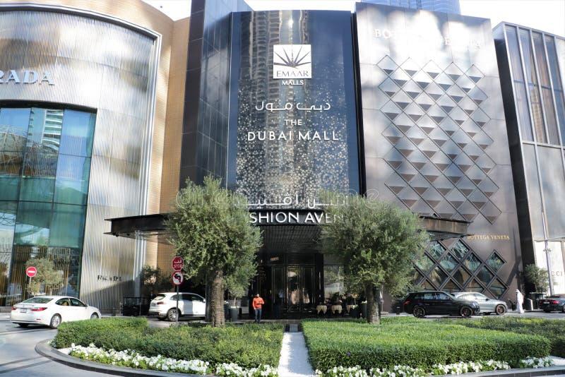 Il Dubai Mall fotografia stock libera da diritti
