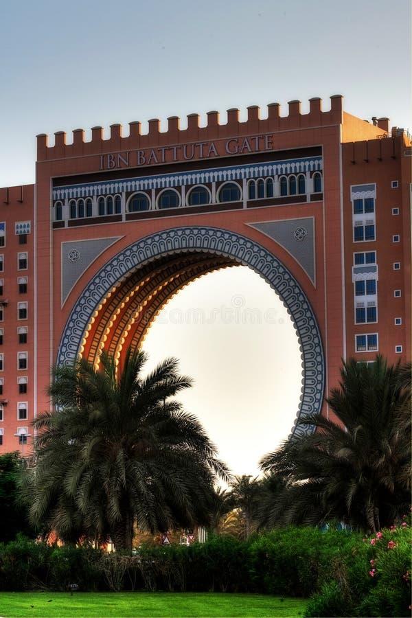 Il Dubai UAE fotografia stock libera da diritti