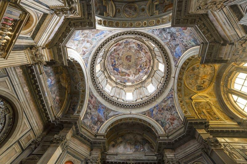 Il duomo, cattedrale di Napoli, campania, Italia fotografia stock