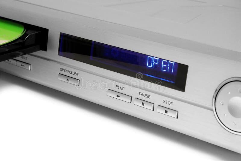 Il DVD-giocatore fotografia stock libera da diritti