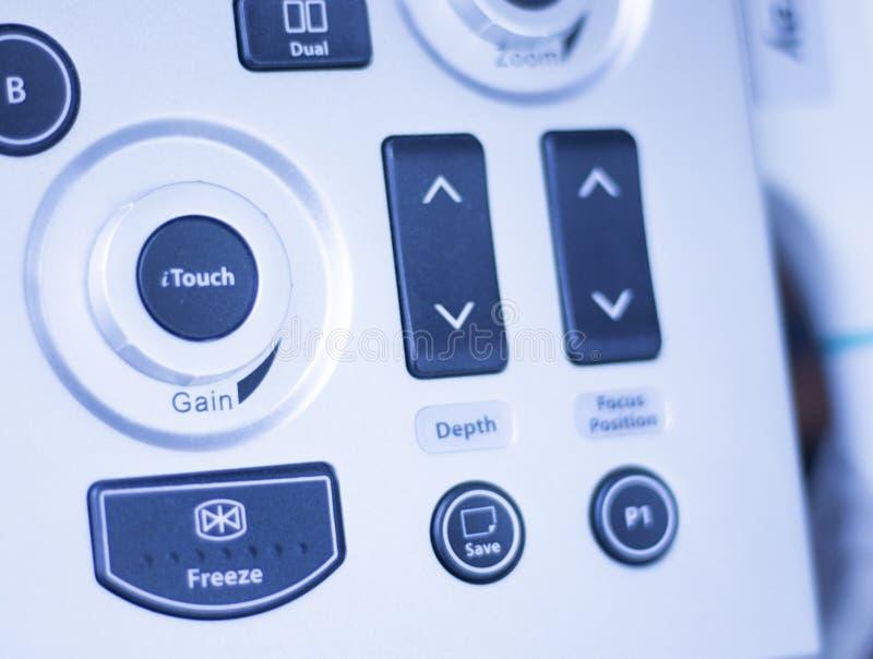 Il ecography EPI di ultrasuono asciuga l'agugliatura immagine stock
