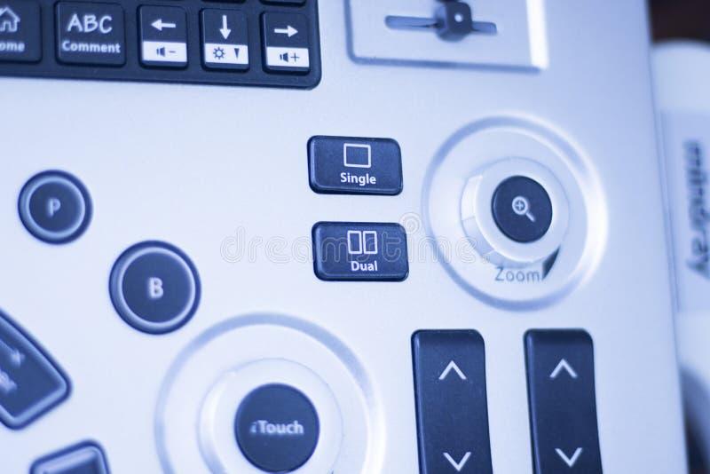 Il ecography EPI di ultrasuono asciuga l'agugliatura fotografia stock