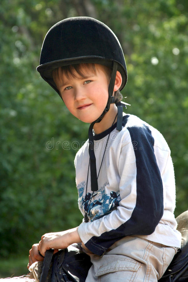 Il equestrian immagine stock