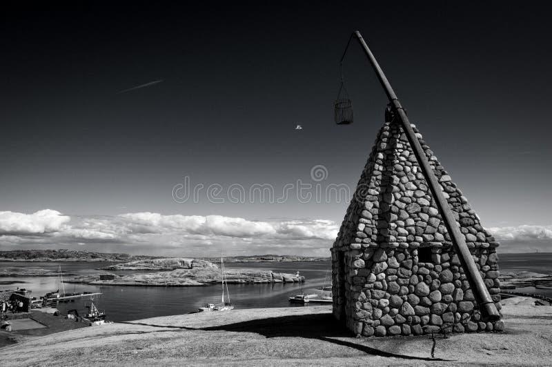Download Il Faro All'estremità Di Verdens, Norvegia Fotografia Stock - Immagine di background, giorno: 55351646