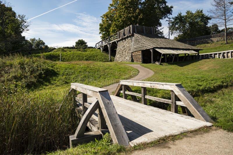 Il ferro storico nazionale funziona circa in Saugus, Massachusetts fotografia stock libera da diritti