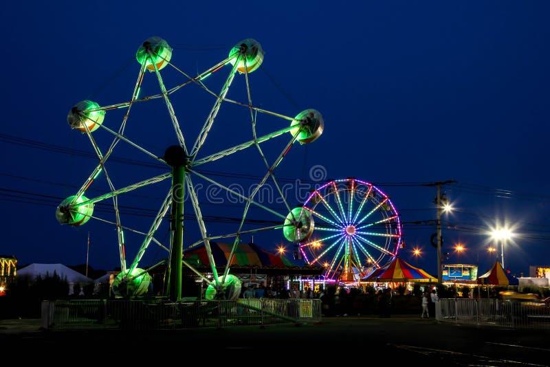 Il festival annuale dell'ostrica di Norwalk fotografia stock
