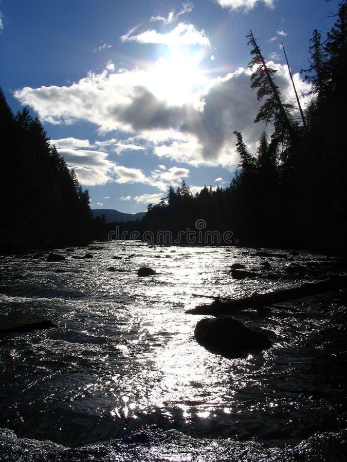 Il fiume immagine stock