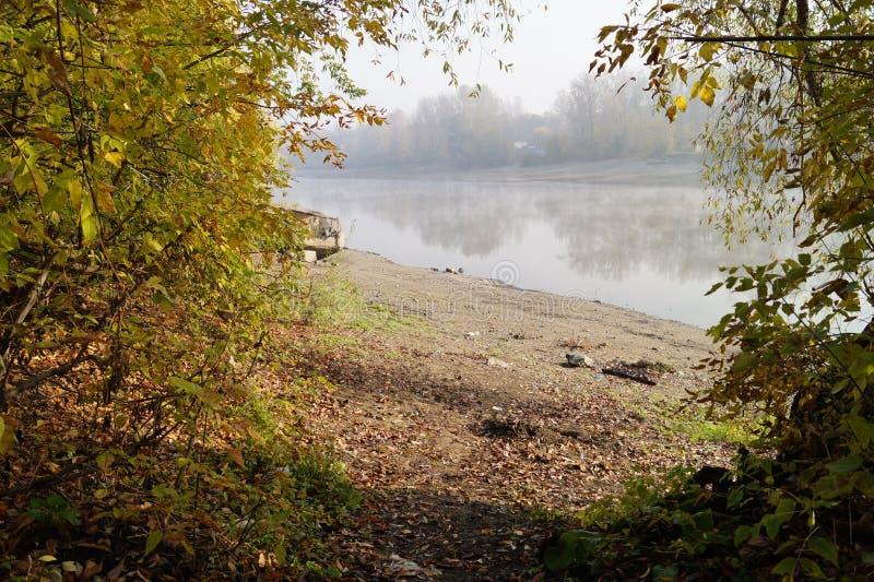 Il fiume fotografia stock