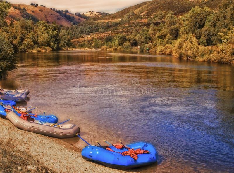 Il fiume americano, California immagini stock