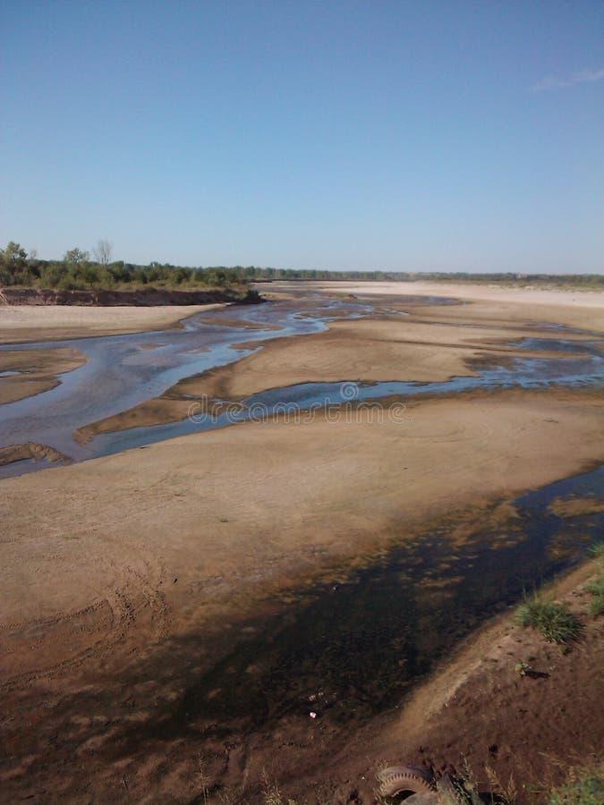 Il fiume Cimarron immagine stock libera da diritti