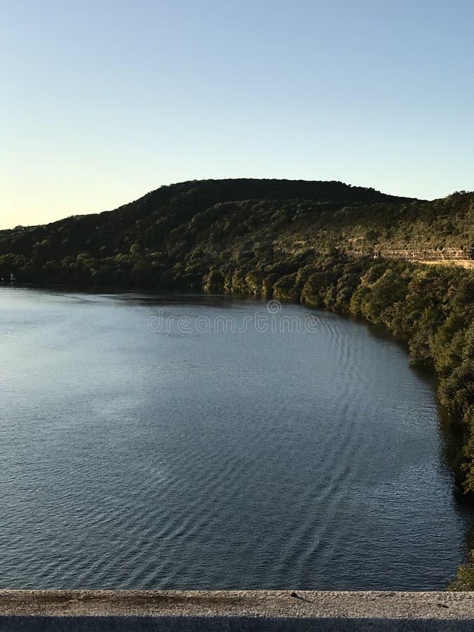 Il fiume Colorado Austin Texas immagini stock libere da diritti