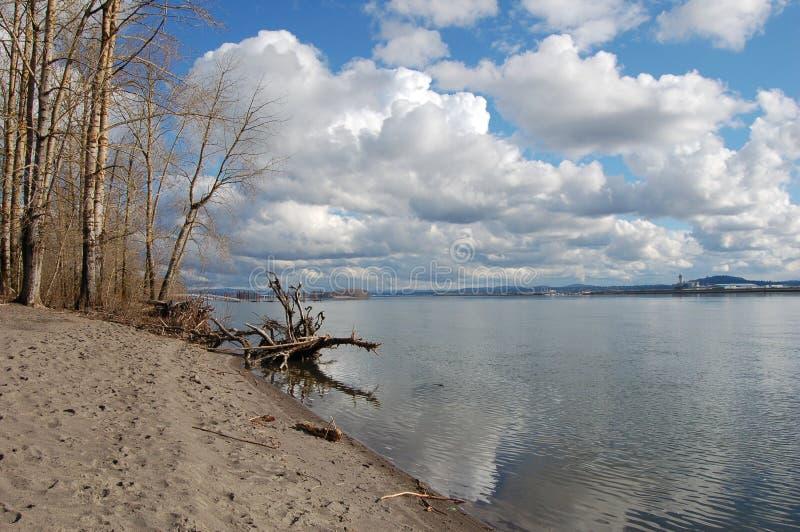 Il fiume Columbia fotografia stock libera da diritti