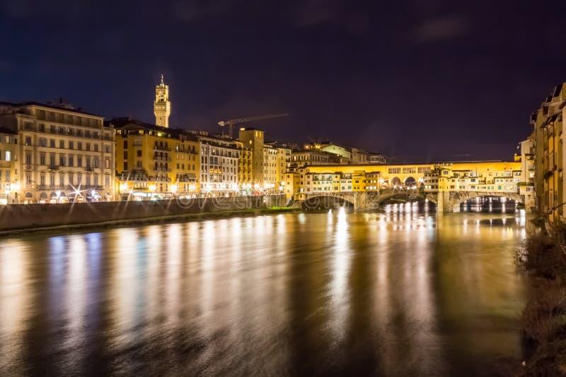 Il fiume del Arno a Firenze, Italia immagine stock