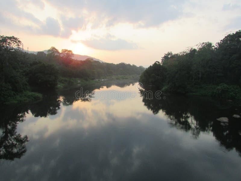 Il fiume del kerela fotografia stock libera da diritti