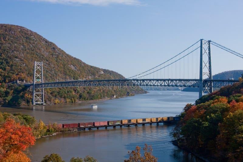 Il fiume di Hudson immagine stock libera da diritti