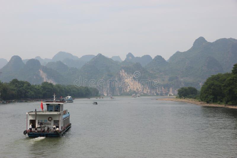 Il fiume di Li fotografie stock