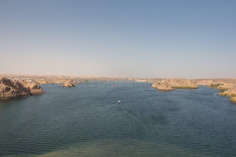 Il fiume di Nilo fotografie stock libere da diritti