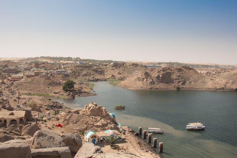 Il fiume di Nilo fotografie stock