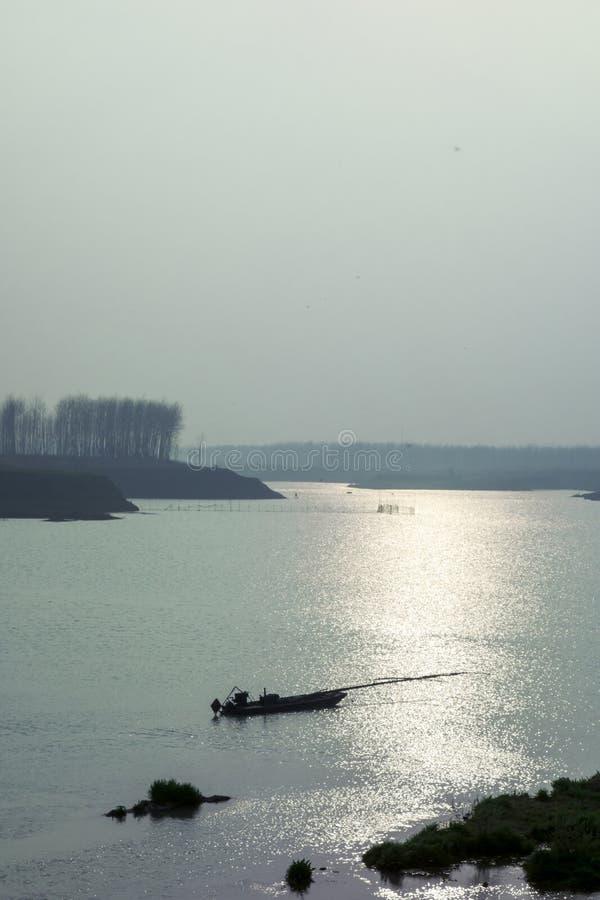 Il fiume Huaihe fotografia stock