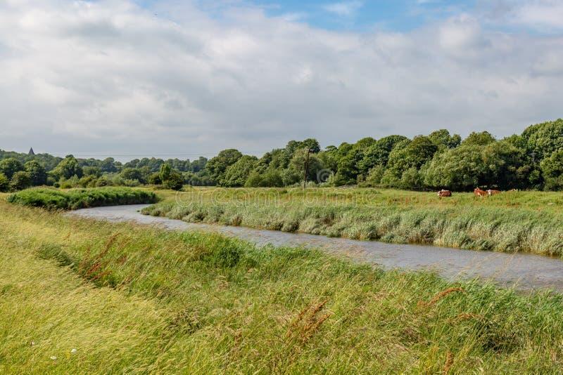 Il fiume Ouse immagini stock libere da diritti