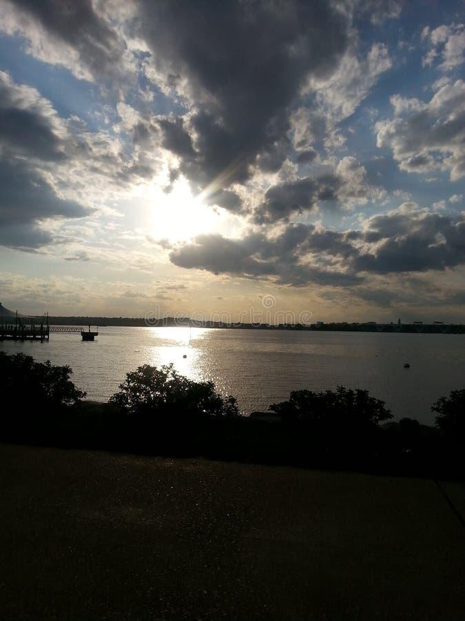 Il fiume Potomac immagini stock